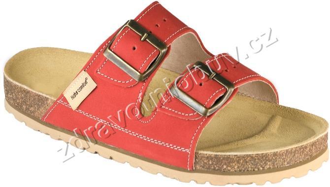 pantofle 1002 PEH2 červené 465f1aba52